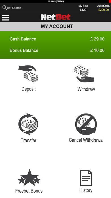 Netbet мобилно приложение