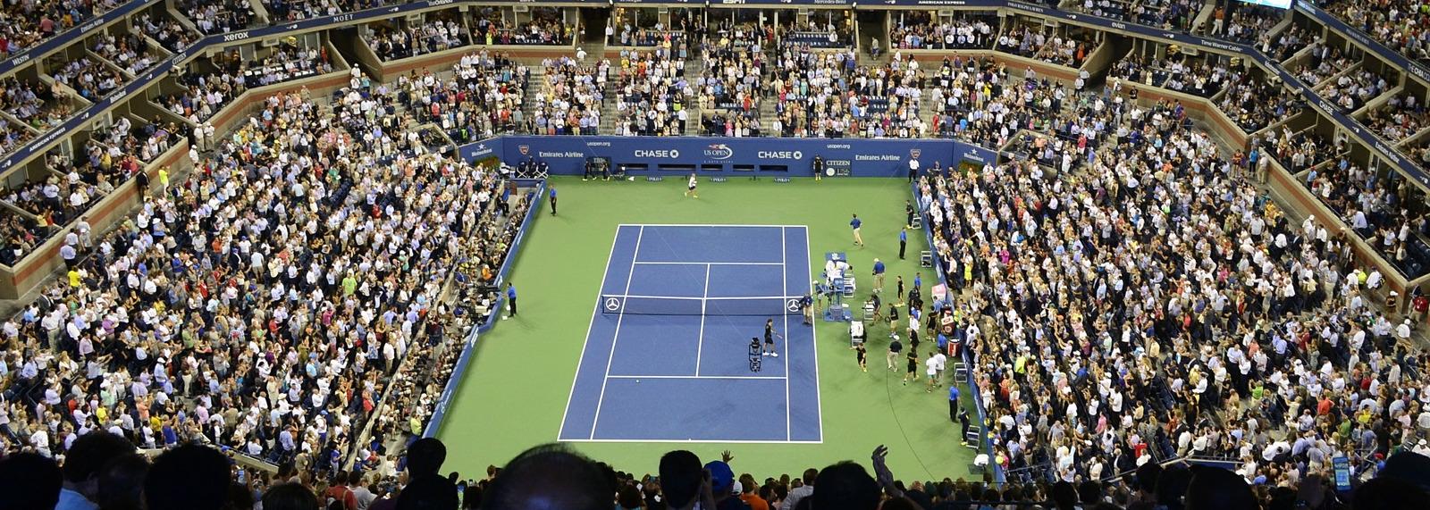 Залагане на тенис и залагането на УС Опен